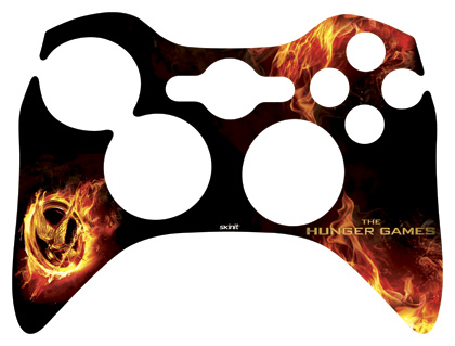 Xbox Controller Skin Template The Hunger Games Logo ...